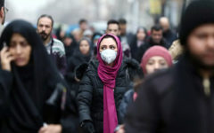 Infection is on the rise, Iran is suffering
