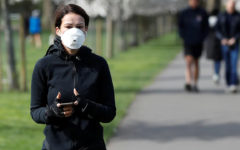 The World Health Organization recommends wearing a mask outside