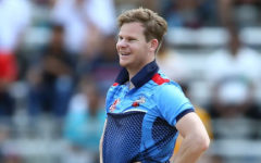 Steven Smith took the bat after long two months