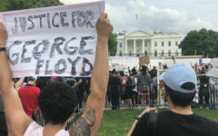 Protest occurred in front of White House