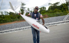 UK aid supports use of drone technology in Ghana's coronavirus fight
