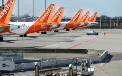 EasyJet hopes to resume flights on 75% of its route network