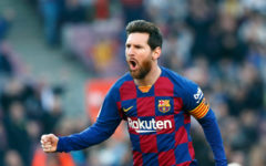 Messi is injured, worried about the return match