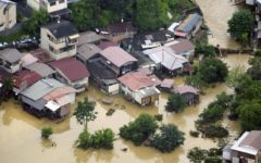 Fifteen people are believed dead due to flooding in Kyushu, Japan
