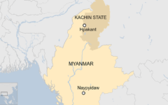 At least 126 bodies found after a landslide in northern Myanmar