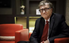 Bill Gates blamed social media for spreading fake news