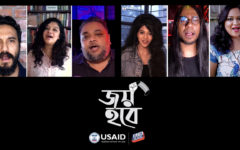 USAID published song to acknowledge COVID-19 frontline workers in Bangladesh