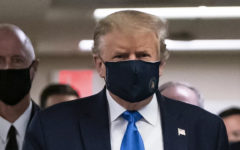 Finally POTUS Donald Trump wore a mask in public