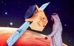 The UAE sent the first Arab spacecraft to Mars