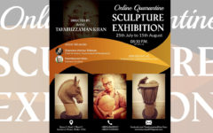 Online quarantine sculpture exhibition to be be inaugurated for all