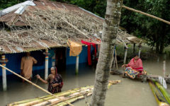 The EU is giving Bangladesh 9.6 million BDT to deal with the floods