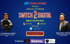 "JCI Dhaka United organized advocacy workshop ""Switch 2 Digital"""