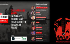 Save the Children lunches `Red Alert' campagion adressing climate emergency