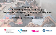 Ashshash project conducted a webinar on 'combating human trafficking' with BRAC