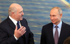 Vladimir Putin vows military support for Belarus' Lukashenko