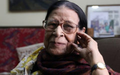 Sayeeda Khanam, the first established female photographer of Bangladesh passed away