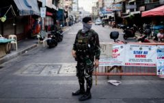 People in the Philippines back in lockdown after a surge in COVID-19