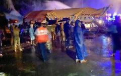 So far 15 people confirmed dead in a plane crash in Kerala