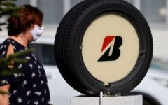 France should invest in a Bridgestone tyre plant threatened with closure, Macron said