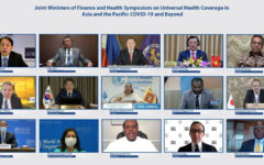 Finance and Health Ministers Pledge Support for Universal Health Coverage