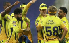 Dhoni's Chennai got a flying start In IPL