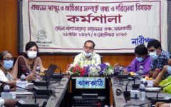 Workshop on Reproductive Health and Rights in Jhalokati