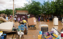 Niger flooding causes over 36,000 houses to collapse