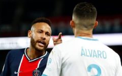 PSG lost the 5 red card match against Olympique Marseille