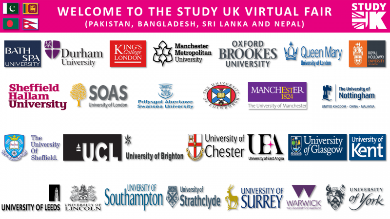 Study UK Virtual Fair