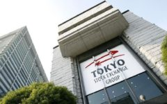 Tokyo stocks closed lower on Monday over worries about coronavirus cases