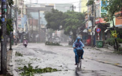 Cyclone and landslides killed 21 in Vietnam