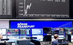 European stock markets volatile as uncertainty continues over US election outcome