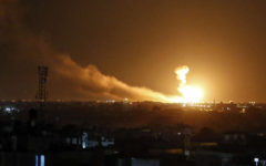 Israeli airstrikes near Damascus
