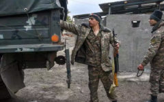 Azerbaijani troops have entered the Armenian handed over territory