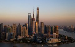 Shanghai dethroned London to become the world's most connected city