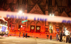 Assailant shot dead by police during an attack attempts outside a church in NYC