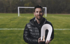 Messi won the 'Champion for Peace' award