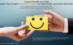 "Huawei Recognized as a ""2020 Gartner Peer Insights Customers' Choice"" for Data Center and Cloud Networking"
