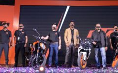 KTM Bangladesh and Runner Automobiles unveil Bangladesh's first two KTM motorcycles