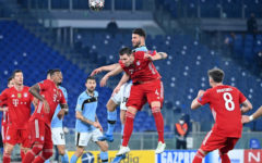Bayern Munich plot quarter-final course by routing Lazio