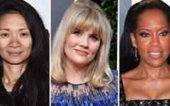 Three women have been nominated for best director at this year's Golden Globe awards