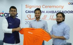 Shakib Al Hasan embarks on a new journey as Daraz's Campaign Ambassador