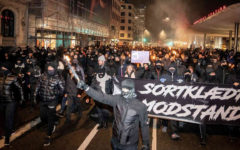 Protests in Denmark against the COVID-19 Restrictions