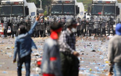 UN condemns use of force against Myanmar protesters