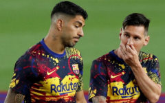 Suarez says Messi contract leak was 'evil'