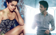 Shah Rukh Khan and tapsee will act in Rajkumar Hirani's new film