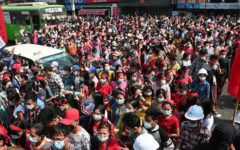 Myanmar's protests will be broadcast, despite junta blackout