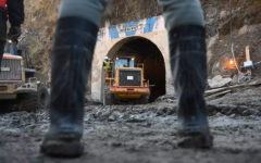 Indian rescuers try drilling from above into disaster tunnel