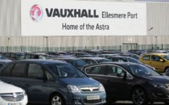 Vauxhall to halt production at its Ellesmere Port plant for six shifts next week