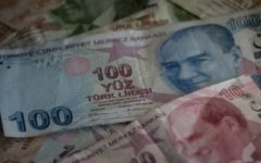 Turkish Lira tumbled as much as 15%